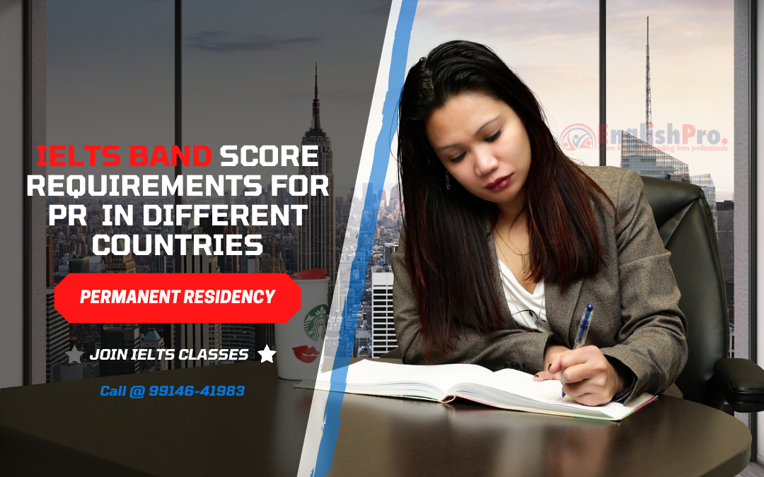 IELTS Band Score Requirements to get PR in different countries